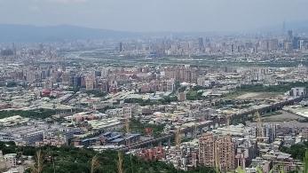 大同山俯瞰大台北