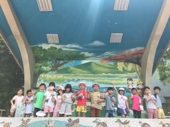 山佳國小環境教育司令台
