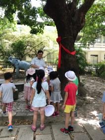 山佳國小許校長親自導覽生態教育2