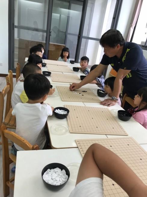 指導學生下棋規則與技巧